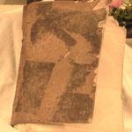Libro graduario in pelle e pergamena. Bottega toscana sec. XIX 1/2