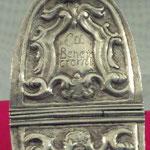 Navicella portaincenso in argento lavorato. Bottega fiorentina sec. XVIII 2/3