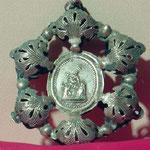 Ex-voto in argento con decorazioni. Bottega toscana sec. XX