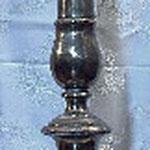 Candeliere con piede cilindrico. Bottega toscana sec. XIX