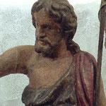 San Giovanni Battista ligneo, bottega toscana sec. XVI-XVII