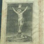 Stampa dal Libro dei Defunti. Bottega toscana (1794)