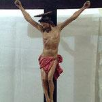 Gesù Crocifisso con perizoma rosso, bottega toscana sec. XVII