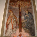 San Biagio e San Guglielmo. Nasini G. N. sec. XVII-XVIII