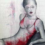 I'm waiting... - 80 x 100 cm on canvas