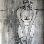 Unable to cope - 72 x 110 cm