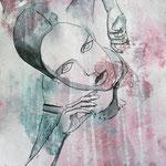 Help me - 27 x 35 cm on paper