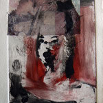 Monotype and collage - 11 x 15 cm