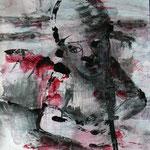Warchild - 70 x 50 cm on paper