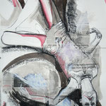 Domestical Violence II - 72 x 110 cm on paper