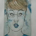 Simon - Etching - 10 x 16 cm