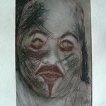 Ludo - Etching - 10 x 16 cm