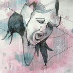 Stop! - 27 x 35 cm on paper