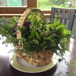 Marions Blumenarrangement