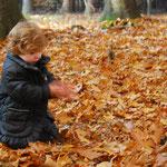 Blätter können rascheln.