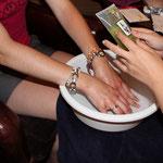 Stand Nutrimetics Soin des mains et pieds