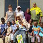 Haskey Mitarbeiter und betreute Kinder
