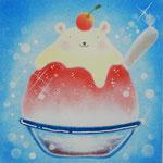 練乳カキ氷