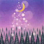 月明かりの森