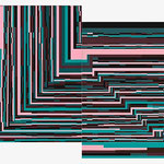 Puzzle (160x100cm les 2 pièces)  Acrylique sur toile marouflée sur bois