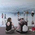 Miroirs - Acrylique sur toile (117x73cm)