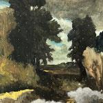 E.D.E.N , 2021 , 160 x 200 cm, oil on canvas