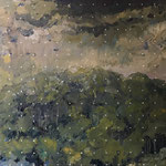E.D.E.N , 2021 , 40 x 50 cm , oil on canvas
