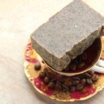 Kaffeeseife nimmt Zwiebel- und Knoblauchgeruch