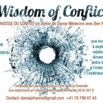 Flyers Wisdom of Conflict en français and in English