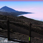 Nebel, Pico del Teide, Teneriffa