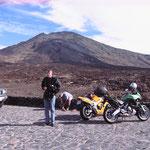 Motorradtour, Las Cañadas, Teneriffa