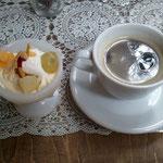 ミニミニパフェ & コーヒー