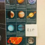 В классе преподавателя астрономии.