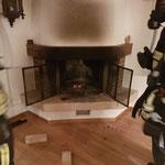 Kaminbrand aufgrund eines Wespennestes