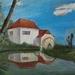 Wassermühle, Irmgard Sczimarowsky / © Hansfried Münchberg