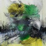 FalkenJagd - 40x50 cm - 2010 © Peter K. Endres