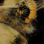 CASANDRA - 120x40 cm Canvas - 2017 © Art by Peter K. Endres