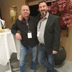 Peter K. Endres meets Thomas W. Bossert - das erste Mal nicht digital sondern analog ... also LIVE