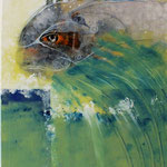 Fish Jumper - 60x80 cm Canvas - 2020 © Art by Peter K. Endres