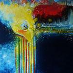 Farben der Magie - 58x75 cm Canvas 2016 © Art by Peter K. Endres