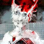 BurnOUT/Mobbing oo2 - 50x60 cm  - 2012 © Peter K. Endres