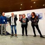 Künstler/ und Veranstaltungs-Dreamteam ! Rainer Schoch, Peter Guarisco, (.. in Arbeit) und Marianne Schoch.
