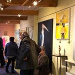 Ein Raum der Galerie PATERSWOLDE in den Niederlanden