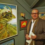 Vernissage : Königsvogel und Peter K. Endres