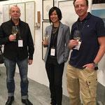 Peter K. Endres (li.) meets Chris van Weidmann-Truong and Marc O. Seeh