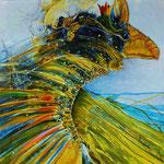 Königsvogel - 60x80 cm - 2015 © Peter K. Endres