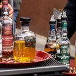 Herrn Metzgers Whiskysortiment durften natürlich nicht fehlen!