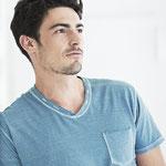 T-Shirt aus 30% Hanf und 70% Bio-Baumwolle
