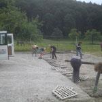 Reitplatz abbauen in Steisslingen