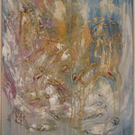 Illusionen, Acryl mit Spachtel, 90 cm x 90 cm
